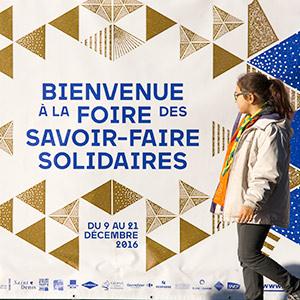 Foire des savoir-faire solidaires / visuel et déclinaisons / Plaine Commune /